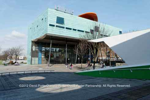 Peckham Library near the site of Peckham Manor House