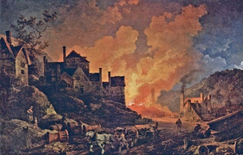 Coalbrookdale at Night