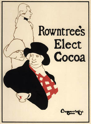 Beggarstaff Brothers Rowntree's Cocoa poster 1895
