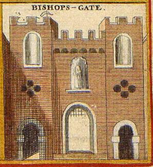 Bishopsgate, London, 1650