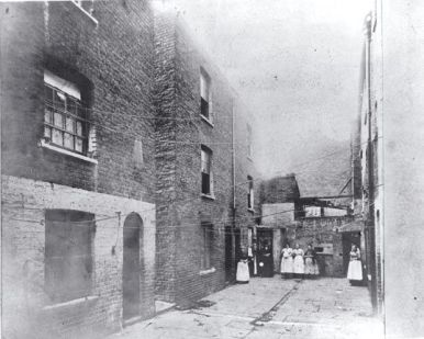 A Court off Boundary Street 1890