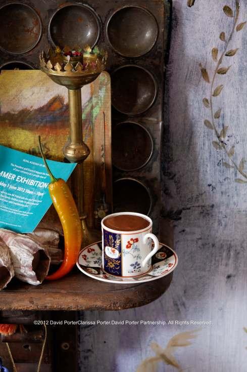Cocoa, recipe for real cocoa hot chocolate 17th Century