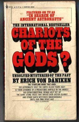 'Chariots of the Gods' by Erich von Daniken