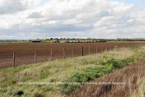 Farmland at Shellbeach, Muswell Manor in the distance.©2012 David Porte.r