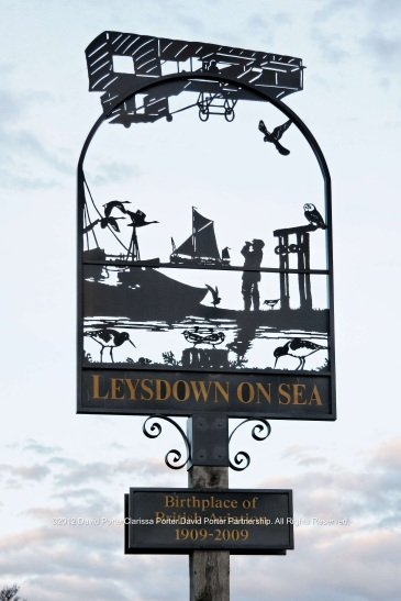 Leysdown on Sea village sign