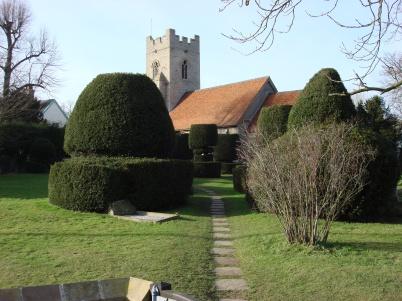 Borley Parish Church, Essex