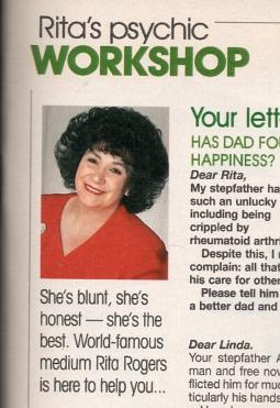 Rita Rogers in Bella magazine